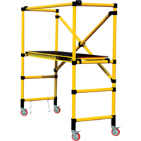 Mobile Work Scaffolding - Speedy Mobile Fibreglass Scaffolding VC197 | Waymarc Industries Inc