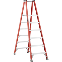 Industrial Heavy-Duty Fibreglass 2-Way Platform Stepladders (FMP1500 Series) VD421 | Waymarc Industries Inc
