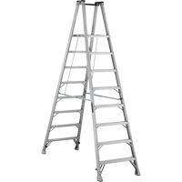 Industrial Heavy-Duty Aluminum 2-Way Platform Stepladders (AMP1500 Series) VD424 | Waymarc Industries Inc