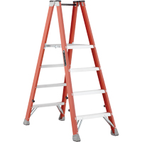 Industrial Heavy-Duty Fibreglass 2-Way Platform Stepladders (FMP1500 Series) VD428 | Waymarc Industries Inc