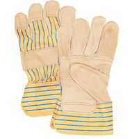 Grain Cowhide Fitters Patch Palm Gloves YC386 | Waymarc Industries Inc
